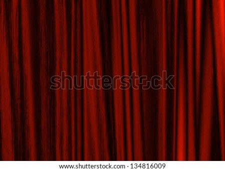 grunge fabric texture red background