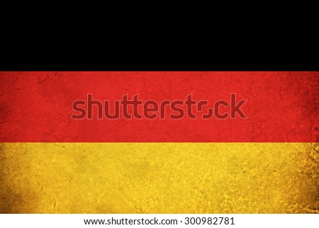 Grunge Flag of Germany / German country