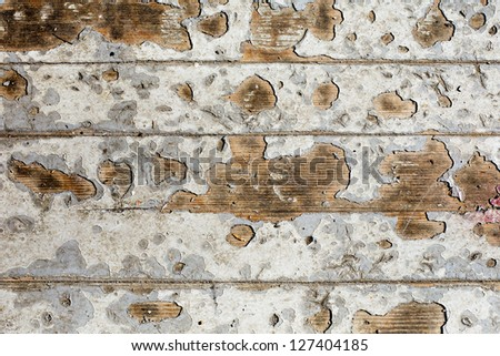 grunge floor texture - stock photo