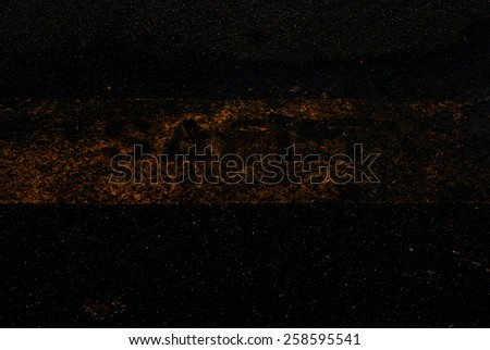 grunge floor with safety words - stock photo