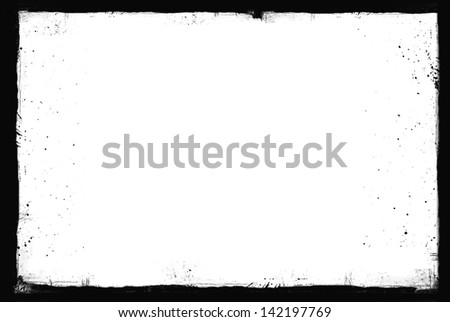 Grunge frame  - stock photo