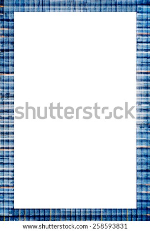 grunge frame with empty space