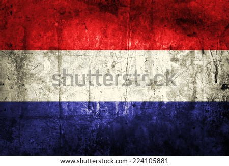 Grunge France flag  - stock photo