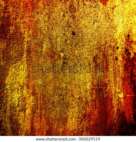 grunge gold  wall  background