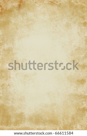 Grunge golden abstract textured background with darkened edges and lighter center - stock photo
