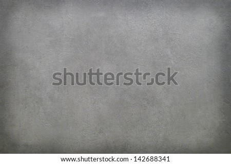 Grunge gray wall with natural cement texture, can be used as background - stock photo