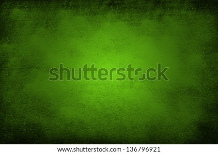 Grunge green background - stock photo
