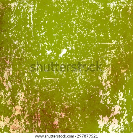 Grunge green background with scratches
