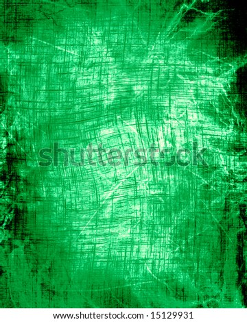 grunge green background with some damage on it