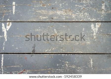 Grunge grey plank wood background - stock photo