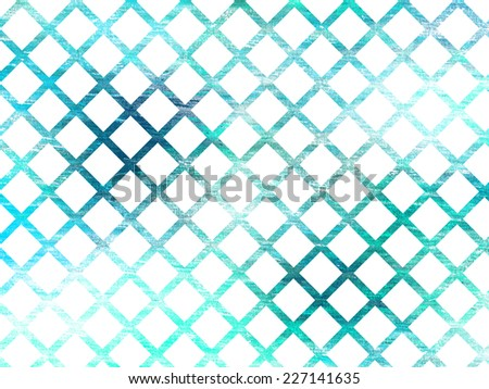 grunge grid background with diamonds pattern
