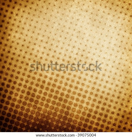 grunge halftone pattern background - stock photo