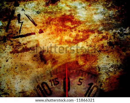 grunge industrial background - stock photo