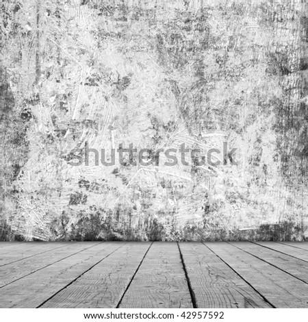 Grunge interior. More available in my portfolio. - stock photo