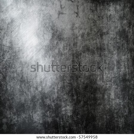 grunge iron plate (Industrial metal background) - stock photo