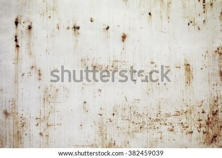 Grunge iron plate texture background - stock photo