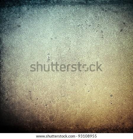 grunge leather - stock photo