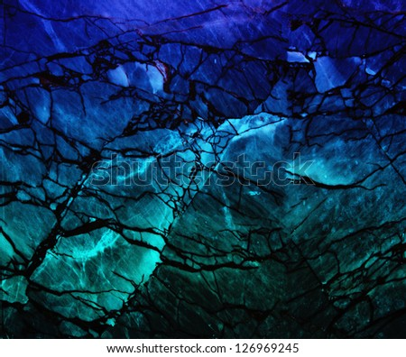 Grunge Marble Surface Fantasy Style Background - stock photo