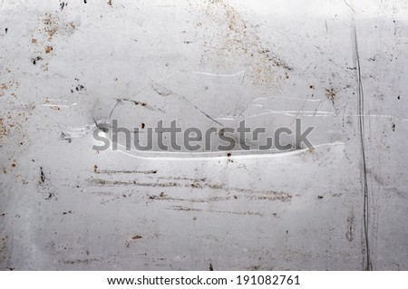 grunge metal - stock photo