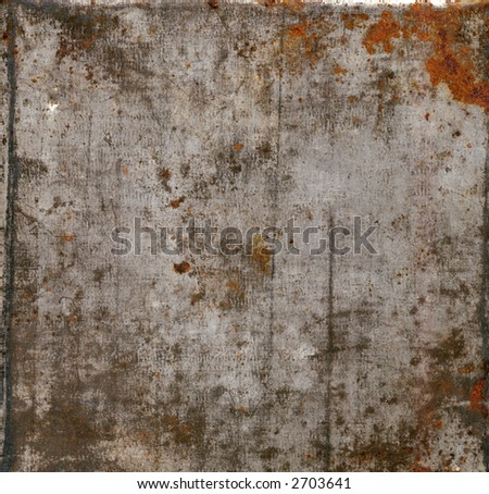 Grunge metal background 1