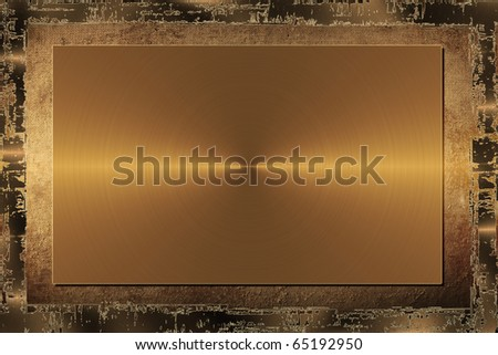 Grunge Metal Background - stock photo