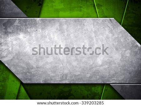 grunge metal pattern background - stock photo