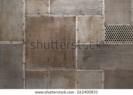 grunge metal texture background - stock photo