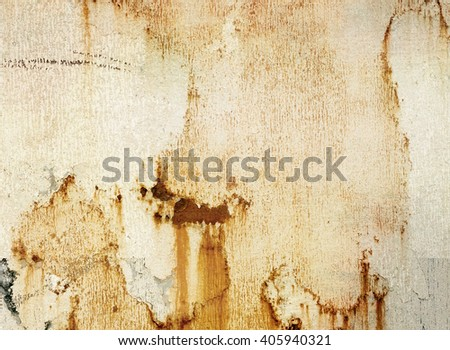Grunge metal wall detail for background