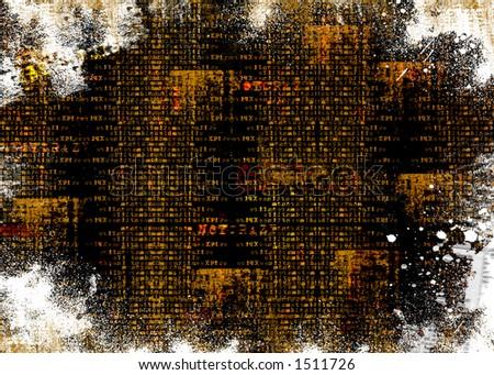 Grunge mixed Background - stock photo