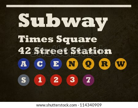 New York Subway Stock Photos Images Amp Pictures