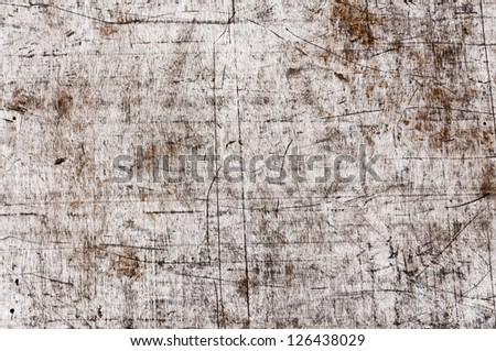 grunge of texture wood pattern background - stock photo