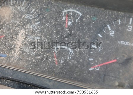Speed Gage Stock Images RoyaltyFree Images Vectors Shutterstock - Car image sign of dashboardcar dashboard sign multifunction display stock photo royalty