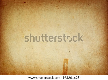 Grunge old paper background texture. - stock photo