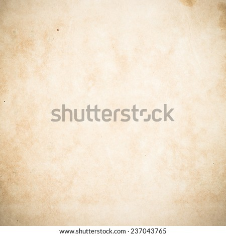 Grunge old paper texture, background with space for text. Card Sepia Retro Pastel Vintage Letter Brown Blank Wall Art Fiber Detail Burnt Title Aged Grain Frame Empty Bad concept. - stock photo