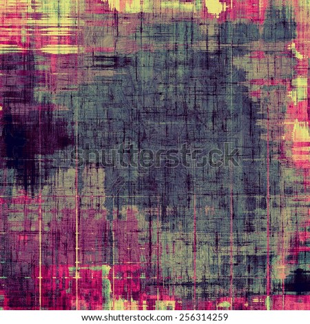 Grunge old-school texture, background for design. With different color patterns: yellow (beige); purple (violet); blue; pink - stock photo