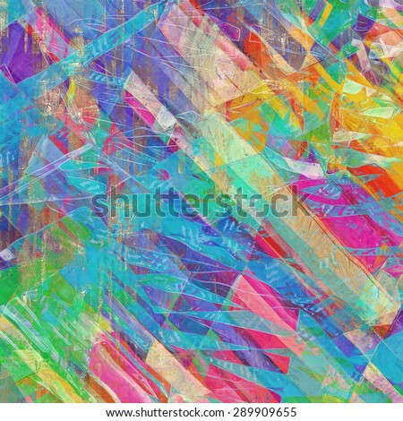Grunge old-school texture, background for design. With different color patterns: yellow (beige); blue; green; pink; red (orange)