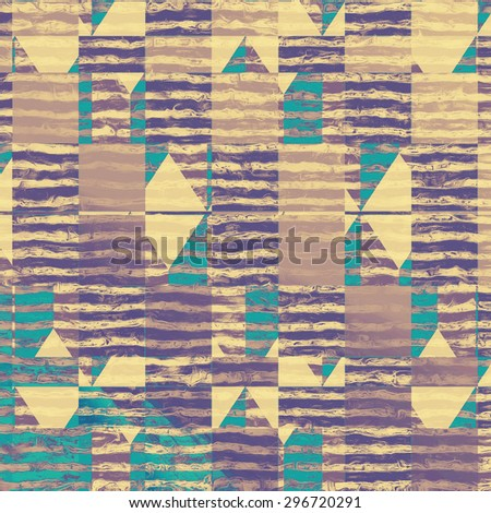 Grunge old-school texture, background for design. With different color patterns: yellow (beige); gray; blue; purple (violet) - stock photo