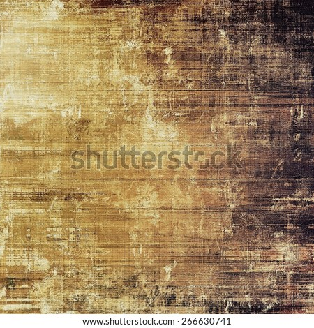 Grunge old texture as abstract background. With different color patterns: yellow (beige); brown; gray; black - stock photo