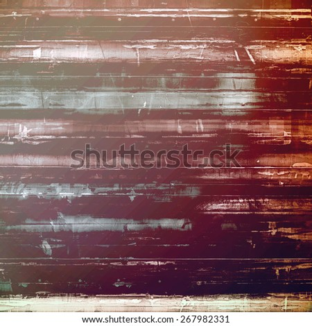 Grunge old texture as abstract background. With different color patterns: yellow (beige); brown; purple (violet); gray - stock photo