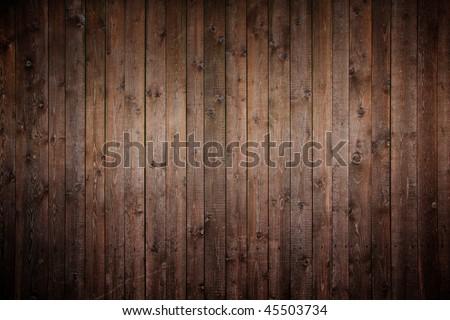 grunge, old wood panels - stock photo
