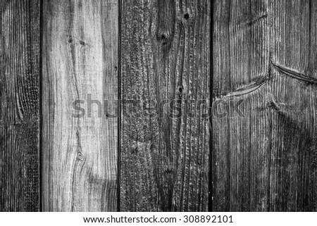 grunge old wood wall texture and background - stock photo