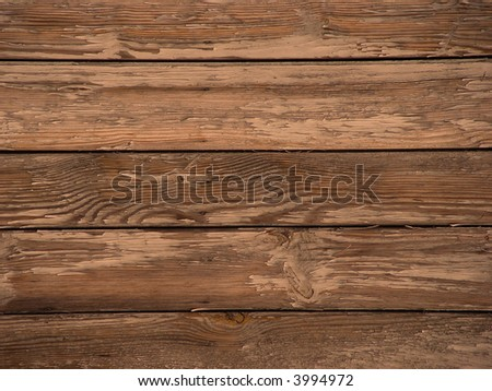 grunge old wooden texture - stock photo