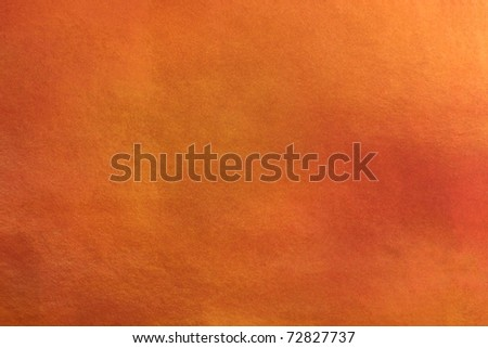 Grunge orange background with stains - stock photo