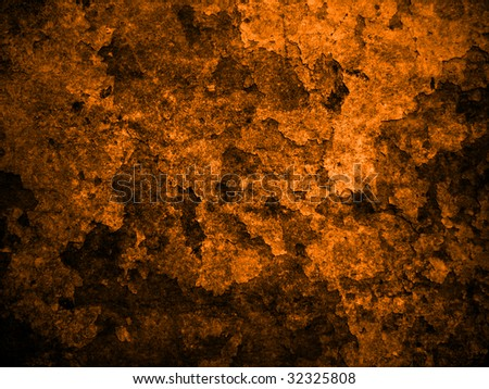 Grunge orange messy background - stock photo
