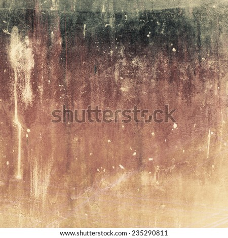 Grunge painting background with some color stain - stock photo