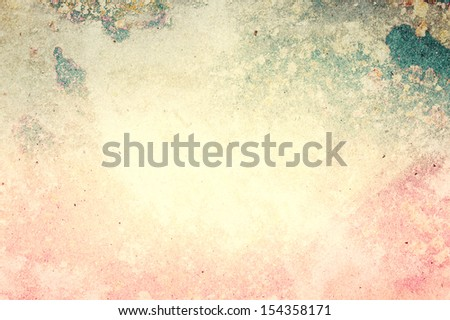 Grunge paper background or texture with space for text or image. Designed old grunge abstract style or concept. - stock photo