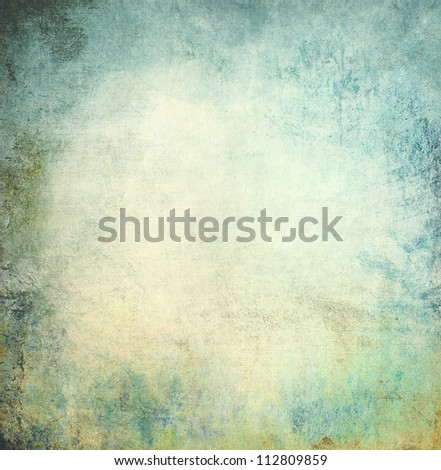 Grunge paper background, scratched texture - stock photo