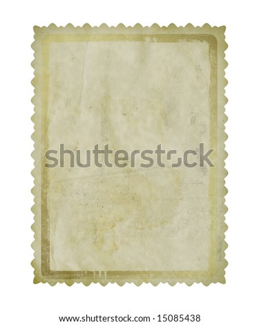 Grunge paper design in scrapbooking style - stock photo