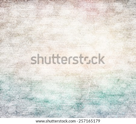 Grunge paper texture. Vintage background. - stock photo