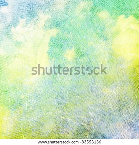 Grunge papers design in scrap-booking style - stock photo